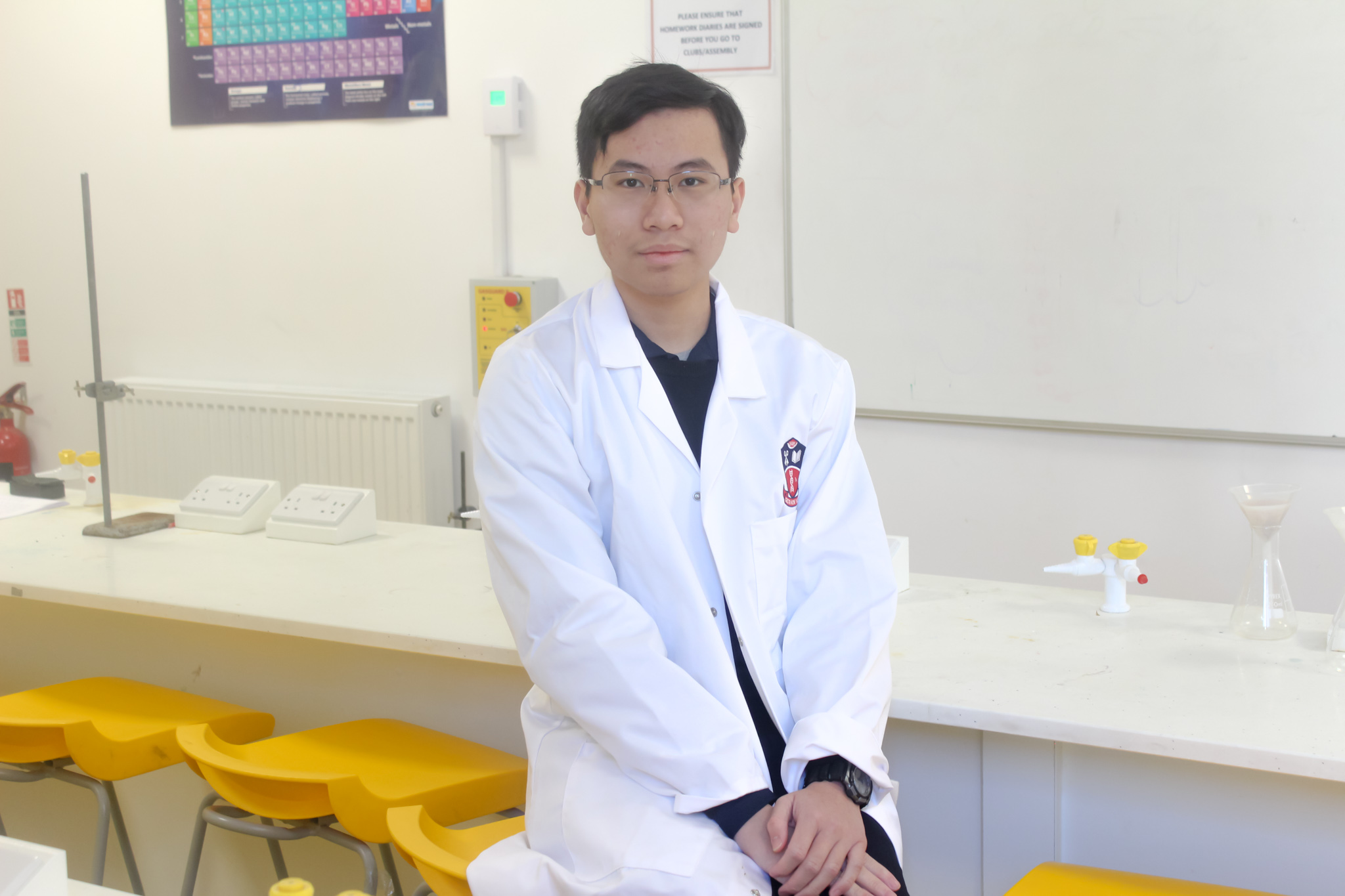 Cardiff student amongst top students in International Biology Olympiad